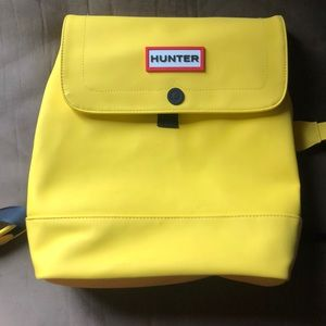 Hunter yellow backpack